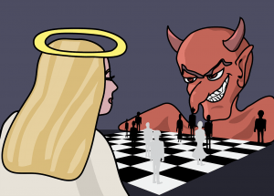 duivel-schaak