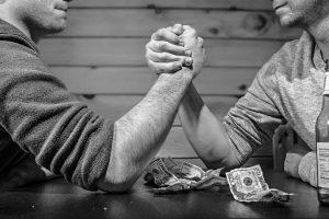 arm-wrestling